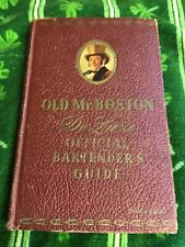 Old Mr. Boston Official bartenders Deluxe guide 5th edition 1941 vintage