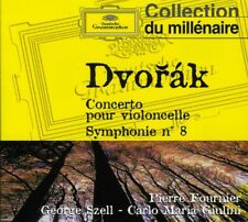 Dvorak: Cello Con Sym 8 - Fournier/Szell/Giulini/Chicago Sympho (2006, CD NIEUW)