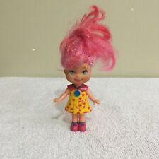 Lil Secrets Doll Pink Hair Yellow Dress Mattel Vintage 1993 Doll Figure