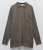 BNWT Zara Oversize Merino Wool LOUNGEWEAR BLOGGERS FAVOURITE RRP £60