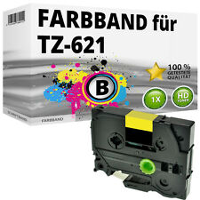 1x Farbband kompatibel Brother P-Touch PT 1010 1230 H100R H300 D200 H105 TZ-621
