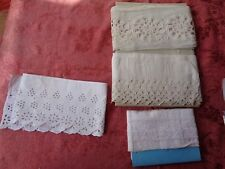 Lot de dentelles anciennes old french lace