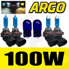 HB3 HB4 100W SUPER WHITE XENON UPGRADE CAR BULBS SET 12V LEXUS GS300 IS200 RX300