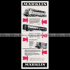 MÄRKLIN Train Electrique '3066, 4069...' (1968) : Pub Publicité Advert Ad #C217