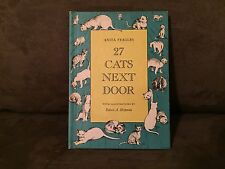 27 Cats Next Door by Anita Feagles, Young Scott Books - NY. 1965, Signed Copy