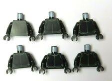 Lego Star Wars 6 Black Body Torso For Minifigure First Order Trooper Soldier