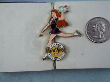HARD ROCK CAFE PIN OTTAWA SEXY ICE SKATER WAITRESS WINTERLUDE 2003 LE 300