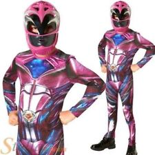Official Rubie's Power Rangers Movie - Pink Ranger Classic Childs Costume Small