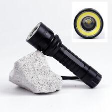 Military Grade Tactical Flashlight T1100 Very Bright Focus TacLight Design