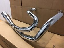 Vance & Hines 2 Into 1 Full Exhaust Sportster Harley Davidson XL 883 1200 Chrome