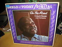 "ON THE ROAD COUNT BASIE & ORCHESTRA 1980 PABLO 12"" LP VINYL JAZZ RECORD"