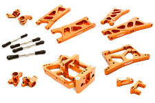 C26738ORANGE Integy CNC Machined Suspension Kit for HPI Jumpshot MT, SC & ST