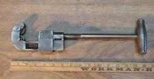 "Old Used Tools,Vintage NYE Tool Works No. 1 Tubing Cutter,1-1/2"" Capacity,Barnes"