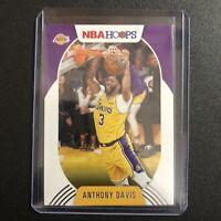 2020-21 Panini NBA Hoops Anthony Davis Base Card Los Angeles Lakers #126