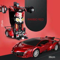 Electric RC Car 1:12 Gesture Sensitive Variant Remote Control Toy Christmas Gift