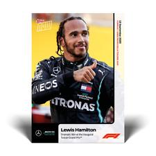 2020 Formula 1 F1 Topps Now card #3 Lewis Hamilton 90th Win at Tuscan Grand Prix