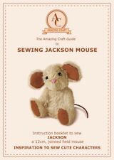 Mohair Sewing Jackson Mouse Pattern & 14 page instruction booklet