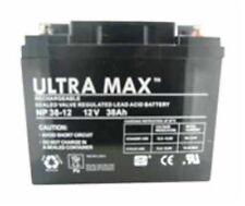 2 X 12V Batteries 38ah (Conforme 40ah & 42Ah) - Pride, SHOPRIDER, INVACARE,