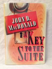 John D MacDonald - Key to the Suite - 1st/1st Mysterious Press 1989, Lovely Copy