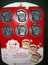 The Elf on the Shelf Non-Stick Cookie Pan  Makes 12 Large Christmas Cookies  NEW