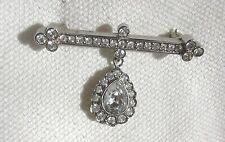 Spilla/Pin antico molto bello stile, Bar con Fob Set Con Diamante
