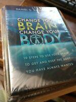 Change Your Brain Change Your Body by Dr. Daniel G. Amen 6-CD & 2-DVD Set NEW