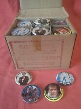 More details for 007 james bond for your eyes only button badge trade box 119 pin badges 1981
