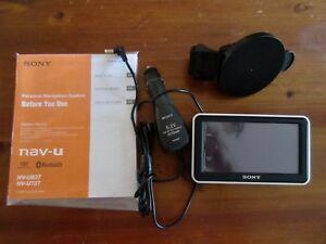 Sony NV-U73T  - 4.3 -INCH WIDESCREEN  PORTABLE  GPS NAVIGATOR