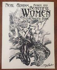 Neal Adams: Rowdy & Beautiful Women Sketchbook - Signed - Rare!