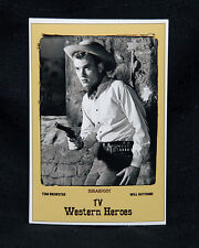 """4""""x6"""" MAGNET PRINT- """"SUGARFOOT"""" FEATURING WILL HUTCHINS AS TOM BREWSTER."""