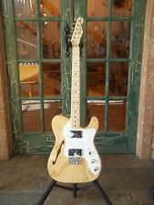 Fender Thinline '72 Telecaster in Natural w/ Deluxe Bag