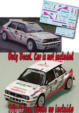 Decal 1:43 Enrico Bertone - LANCIA DELTA - Rally El Corte Ingles 1993