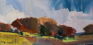JOSE TRUJILLO Oil Painting IMPRESSIONISM Contemporary Landscape COLLECTIBLE ART