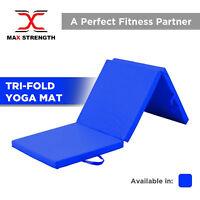 "2"" Thick Soft Folding Panel Gymnastics Mat Pilates Exercise Fitness GYM Yoga"
