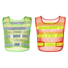 Breathable Safety Security High Visibility Reflective Mesh Vest Night Work NEW