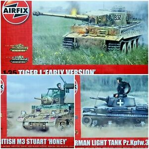 Airfix 1/35 Military Tank New Plastic Model Kit 1 35