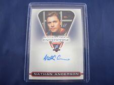 Star Trek Enterprise Autograph Card MAC07 Nathan Anderson as Sergeant Kemper