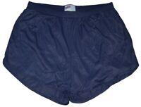 Soffe Navy Blue Nylon Ranger Panties / Silkies Running Track Short Men's Medium