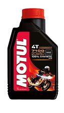 Huile d' Moteur 100% Synthétique Pour Harley-Davidson Motul 7100 20W50 1L