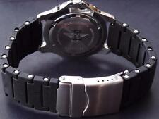QUALITY TOUGH PU PLASTIC STRAP BAND WITH REMOVABLE LINKS TO FIT SEIKO CUSTOM