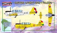 KORA Models 1/72 CURTISS WRIGHT SNC-1 FALCON Uruguay & Bolivian Air Forces