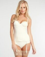 NEW Maidenform Luleh 38B Merriwidow Corset Chic Essentials 33492 Ivory #35631