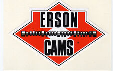 Original out of production Erson Cams race car decal,  Decals