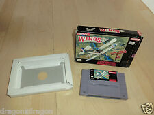 Wings 2 Aces High (SNES) US-Version in OVP ohne Anleitung