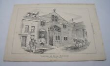 TIMBER SHED OFFICES BIRMINGHAM Mellard Reade Antique Victorian Architecture 1881