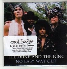 (CM826) The Duke & The King, No Easy Way Out - 2010 DJ CD