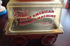 Vintage Sunbeam The Great American Popcorn Machine, Cart Wagon Corn Popper[a*4]