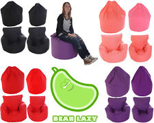 BeanLazy Kids/Teens/Adult Sizes Bean Bag/Gaming Seat. 100%25 Cotton. With Filling.