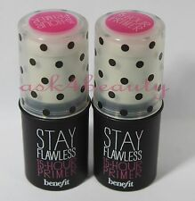 Lot of 2Benefit Cosmetics Stay Flawless 15 - Hour Primer 0.04oz Mini New & Unbox