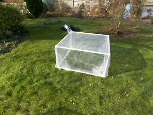 1 m by 1 m strawberry/Vegetable cage 1 m long by 1 M wide 1/2 m H insect mesh